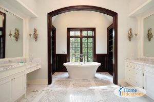 master bathroom remodeled